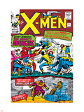 X-Men No.9 Cover: Lucifer Wall Decal by Jack Kirby