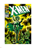 X-Men No.51 Cover: Dane, Lorna and X-Men Plastic Sign by Jim Steranko