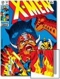 X-Men No.51 Cover: Erik The Red, Cyclops, Angel, Iceman and X-Men Prints by Arnold Drake
