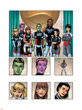 New X-Men: Academy X Yearbook Group: Anole Plastic Sign by Georges Jeanty