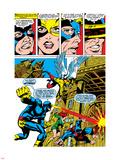 X-Men No.50 Group: Cyclops, Angel, Beast, Grey, Jean, X-Men and Marvel Girl Plastic Sign by Jim Steranko