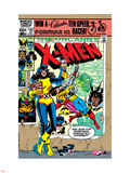 Uncanny X-Men No.153 Cover: Shadowcat and Colossus Plastic Sign by Dave Cockrum