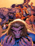 X-Men Forever No.2 Cover: Sabretooth Plastic Sign by Tom Grummett