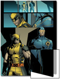 X-Men: Prelude To Schism No.4: Panles with Wolverine and Cyclops Standing Posters by Clay Mann