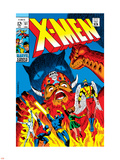 X-Men No.51 Cover: Erik The Red, Cyclops, Angel, Iceman and X-Men Wall Decal by Arnold Drake