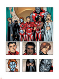New X-Men: Academy X Yearbook Group: Hellion Plastic Sign by Georges Jeanty