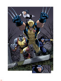 Uncanny X-Men No.511 Group: Wolverine, Cyclops, Colossus and Northstar Plastic Sign by Greg Land