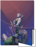 House Of M No.1 Cover: Hawkeye and Wolverine Prints by Esad Ribic