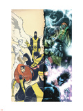 Uncanny X-Men: First Class Giant-Size Special No.1 Cover: Cyclops Wall Decal by Skottie Young
