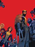 Chris Bachalo - Wolverine & The X-Men No.1 Cover: Wolverine, Kitty Pryde, Beast Plastové cedule