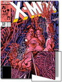 Uncanny X-Men No.205 Cover: Wolverine Art by Barry Windsor-Smith