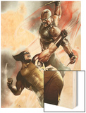X-Men No.2 Cover: Wolverine and Blade Fighting Posters by Adi Granov