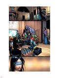 X-Men No.201 Group: Elixir, Anole, Pixie, Rockslide, Hellion, Blindfold, Mercury and Dust Plastskilt av Humberto Ramos