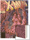 Uncanny X-Men No.205 Cover: Wolverine Wood Print by Barry Windsor-Smith