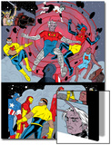 X-Statix No.25 Group: Mr. Sensitive, Vivisector, X-Statix and Avengers Prints by Michael Allred