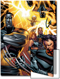 Ultimate X-Men No.50 Cover: Colossus, Wolverine, Nightcrawler, Grey, Jean, Cyclops, Storm and X-Men Prints by Andy Kubert