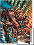 Weapon X: First Class No.1 Cover: Sabretooth and Wolverine Prints by Michael Ryan