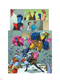 Uncanny X-Men: First Class Giant-Size Special No.1 Group: Wolverine Wall Decal by Craig Rousseau