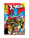 X-Men Annual No.10 Cover: Warlock, Sunspot, Wolfsbane and New Mutants Wall Decal by Arthur Adams