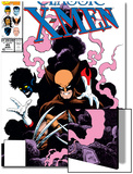 X-Men Classic No.45 Cover: Wolverine and Nightcrawler Fighting Prints by Steve Lightle