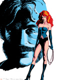 Classic X-Men No.24 Cover: Grey, Jean, Black Queen, Wyngarde and Jason Wall Decal by John Bolton
