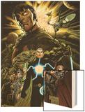 X-Men: Emperor Vulcan No.1 Cover: Vulcan and Havok Wood Print by Paco Diaz