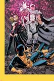 Uncanny X-Men #12 Cover: Magneto, Frost, Emma, Cyclops, Grey, Jean Znaki plastikowe autor Arthur Adams