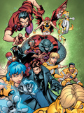 New X-Men No.15 Group: Surge Plastic Sign by Paco Medina