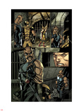 X-Men No.2: Blade Standing Wall Decal by Paco Medina