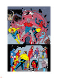 X-Statix No.25 Group: Mr. Sensitive, Vivisector, X-Statix and Avengers Wall Decal by Michael Allred