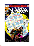 Uncanny X-Men No.141 Cover: Wolverine, Pryde and Kitty Charging Plastic Sign by John Byrne