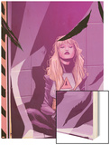 New Mutants No.32: Magik Sitting Wood Print by Robbi Rodriguez