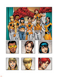 New X-Men: Academy X Yearbook Group: Prodigy Wall Decal by Georges Jeanty