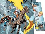Alpha Flight No.8 Group: Major Mapleleaf, Storm, Thor and Human Torch Posters by Dave Ross