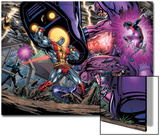 Exiles No.69 Group: Colossus, Nightcrawler, Wolverine, Storm, Cyclops, Sentinel and X-Men Prints by Paul Pelletier