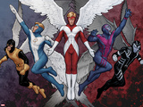 X-Men Evolutions No.1: Archangel Wall Decal by John Tyler Christopher