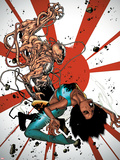 Generation Hope No.3 Cover: Kenji Uedo and Idie Okonkwo Plastic Sign by Olivier Coipel