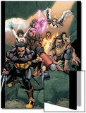 Ultimate X-Men No.89 Group: Wolverine, Bishop, Beast and Angel Posters by Salvador Larroca