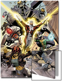 Alpha Flight No.4: Guardian, Marina, Puck, and Shaman Prints by Dale Eaglesham
