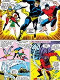 X-Men No.43 Group: Cyclops, Beast, Angel, Iceman, Magneto, X-Men and Marvel Girl Prints by George Tuska