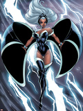 X-Men: Worlds Apart No.1 Cover: Storm Plastic Sign by J. Scott Campbell