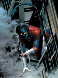 Nightcrawler No.1 Cover: Nightcrawler Swinging Plastic Sign by Greg Land