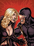 Dark X-Men: The Confession No.1 Cover: Emma Frost and Cyclops Plastic Sign by Yanick Paquette