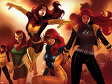 X-Men Evolutions No.1: Jean Gray Wall Decal by Paul Renaud