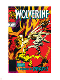 Wolverine No.9 Cover: Wolverine Wall Decal by Gene Colan
