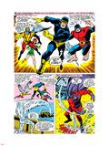 X-Men No.43 Group: Cyclops, Beast, Angel, Iceman, Magneto, X-Men and Marvel Girl Wall Decal by George Tuska