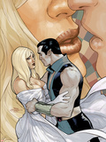 Uncanny X-Men No.527 Cover: Namor Hugging Plastic Sign by Terry Dodson