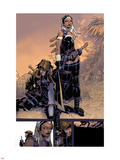 X-Men: Curse of The Mutants - Storm & Gambit No.1: Storm and Gambit Plastic Sign by Chris Bachalo