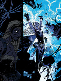 X-Men: Curse of The Mutants - Storm & Gambit No.1: Storm Flying Plastic Sign by Chris Bachalo