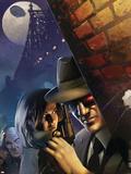 X-Men Noir No.1 Cover: Cyclops Wall Decal by Dennis Calero